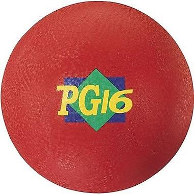 Martin Sports® Playground Ball, Red, 16in.(Dia)