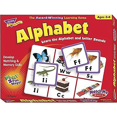 Trend Enterprises® Alphabet Match Me Game