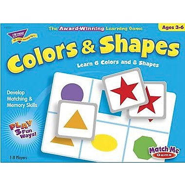 Trend Enterprises® Colors and Shapes Match Me Game