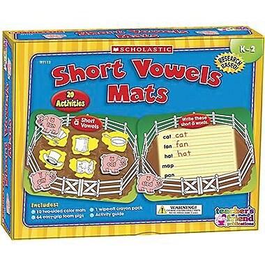 Teacher's Friend® Early Skills Short Vowels Mats