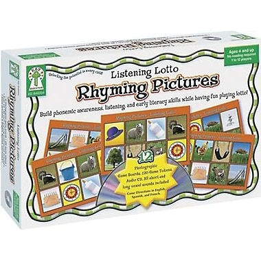 Key Education Publishing® Rhyming Pictures Listening Lotto Game