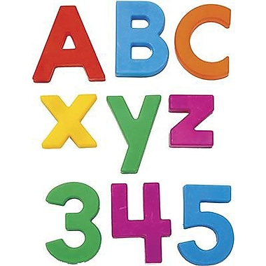 Educational Insights® AlphaMagnets® and MathMagnets® Multi Colored Letters and Numbers Combo Set