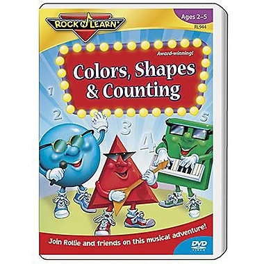 Rock 'N Learn® Educational DVD, Colors, Shapes and Counting