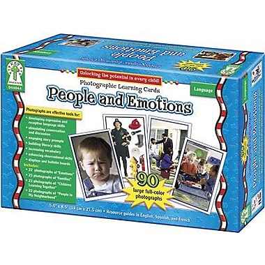 Key Education Publishing® People and Emotions Photographic Learning Cards, Grades Pre K - 3rd