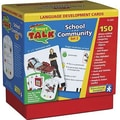 Educational Insights® Smart Talk™ Language Development Cards set 2, School and Community