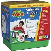 Educational Insights® Smart Talk™ Language Development Cards Set 3, Animals and People