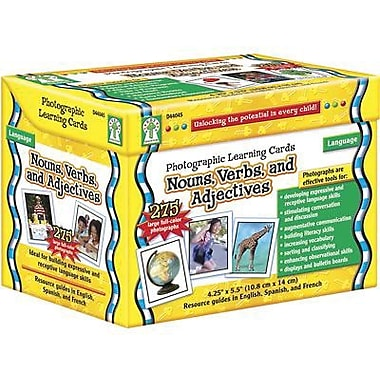Key Education Publishing® Nouns Photographic Language Cards, Grades Pre Kindergarten - 3rd
