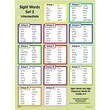 Edupress® Sight Words In A Flash™ Wall Charts, Grades 1st - 2nd