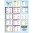 Edupress® Sight Words In A Flash™ Wall Charts, Grades 4th+