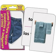 Trend Enterprises® Pocket Flash Card, Home Picture Words