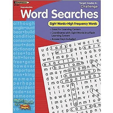Edupress® Sight Words In A Flash™ Word Searches, Grades 4th+