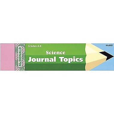 McDonald Publishing® Journal Booklet, Science