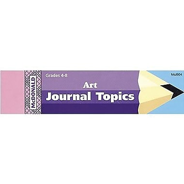 McDonald Publishing® Journal Booklet, Art