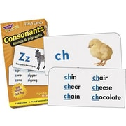 Trend Enterprises® Consonants Skill Drill Flash Cards, Grades 1st - 3rd