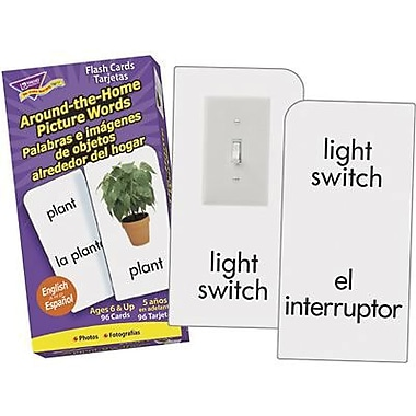 Trend Enterprises® Skill Drill Flash Card, Skill Home Words