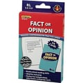 Edupress® Reading Comprehension Practice Card, Fact Or Opinion, Reading Level 3.5 - 5.0