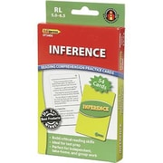 Edupress® Reading Comprehension Practice Card, Inference, Reading Level 5.0 - 6.5