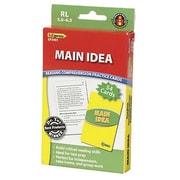 Edupress® Reading Comprehension Practice Card, Main Idea, Reading Level 5.0 - 6.5