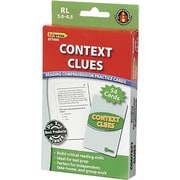 Edupress® Reading Comprehension Practice Card, Context Clues, Reading Level 5.0 - 6.5