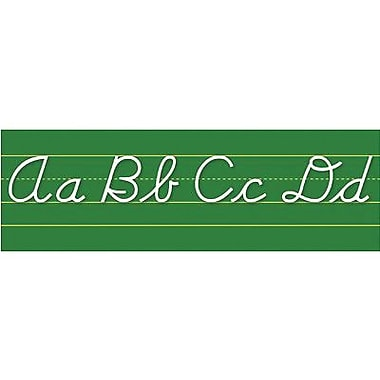 North Star Teacher Resources® Bulletin Board Set, Alphabet Lines - Contemporary Cursive