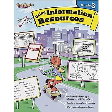 Houghton Mifflin Harcourt Using Information Resources Book, Grades 3rd