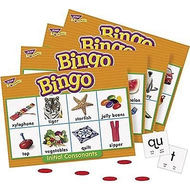 Trend Enterprises® Initial Consonants Bingo Game, Grades Pre Kindergarten - 2nd