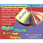Edupress® Sight Words In A Flash Color-Coded Flash Card Set, Grades 4+