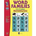 On The Mark Press® Word Families 2 and 3 Letter Book, Grades 1st - 3rd