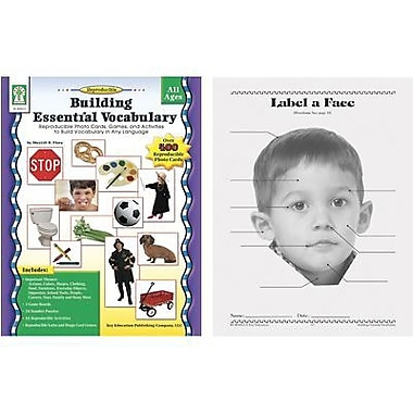 Key Education Publishing® Building Essential Vocabulary Book, Grades 1st - 2nd
