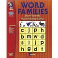 On The Mark Press® Word Families Short Vowels Guide, Grades 1st - 2nd