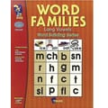 On The Mark Press® Word Families Long Vowels Guide, Grades 1st - 2nd