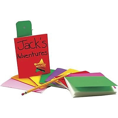 Hygloss Rainbow Brights™ Blank Book, Assorted, 10/Pack