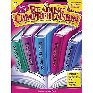 Creative Teaching Press™ Reading Comprehension Graphic Organizers Book, Grades 1st - 3rd