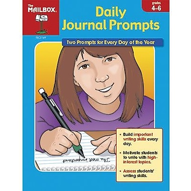 The Mailbox Books® Daily Journal Prompt Book, Daily Journal Prompts, Grades 4th - 6th