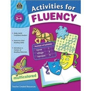 Teacher Created Resources® Fluency Activities Book, Grades 3rd - 4th