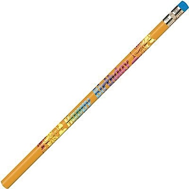 Moon Products Happy Birthday Pencil, 144/Box