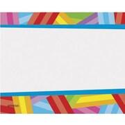 Trend Enterprises® pre-kindergarten - 9th Grades Name Tag, Kaleidoscope