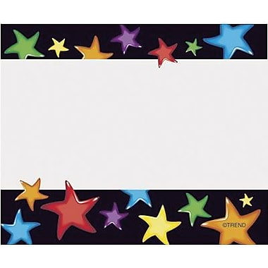 Trend Enterprises® pre-kindergarten - 9th Grades Name Tag, Gel Stars