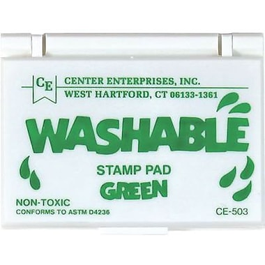 Center Enterprises® Washable Stamp Pad, Green