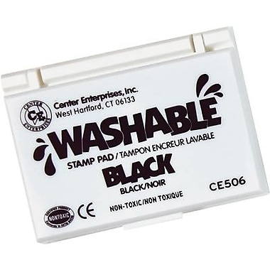 Center Enterprises® Washable Stamp Pad, Black