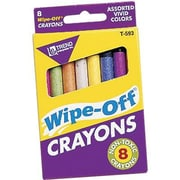 Trend Enterprises® Wipe-Off® Jumbo Crayon, 8/Box