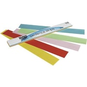 "Pacon® Assorted Kaleidoscope Tagboard Sentence Strip, 24""(L) x 3""(W)"