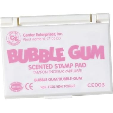 Center Enterprises® Scented Stamp Pad/Refill, Bubblegum/Pink