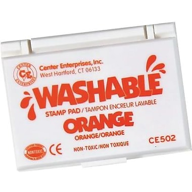 Center Enterprises® Washable Stamp Pad, Orange