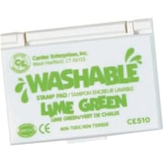 Center Enterprises® Washable Stamp Pad, Lime Green