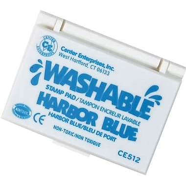 Center Enterprises® Washable Stamp Pad, Harbor Blue