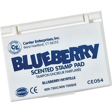 Center Enterprises® Scented Stamp Pad/Refill, Blueberry/Blue