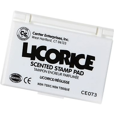 Center Enterprises® Scented Stamp Pad/Refill, Licorace/Black