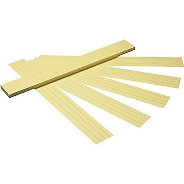 Pacon® 24in.(L) x 3in.(W) Tagboard Sentence Strip, Canary