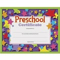 Trend Enterprises® Completion Certificate, Pre School